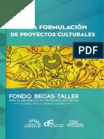 Guía Para La Formulacion de Proyectos Culturales
