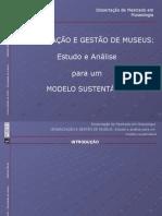 Organização e Gestão de Museus - Salomé Abreu