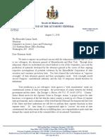 Lamar Smith Letter