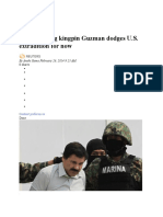 20140227_Mexican Drug Kingpin Guzman Dodges U