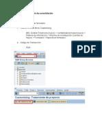 Creación de Formulario de Consolidación y Visualización