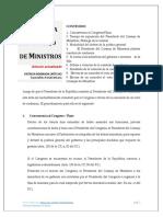 Investidura del Consejo de Ministros