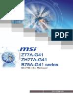 MSI Z77A-G41 Intel Z77 Motherboard Manual.pdf