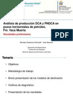 DCA y PNDCA Pozos Horizontales VM