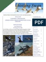 February 2010  Whistling Swan Newsletter ~ Mendocino Coast Audubon Society