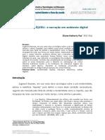 3- LITERATURA LÍQUIDA - A Narração Em Ambiente Digital