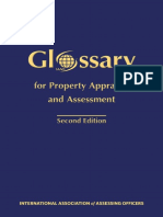Iaao-Glossary for Property Appraisal and Assessment