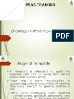 Challenges of Ipsas Implementation in Tanzania