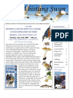 May 2009 Whistling Swan Newsletter ~ Mendocino Coast Audubon Society