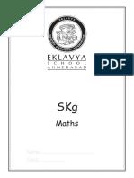 Skg or UKG Maths Workbook