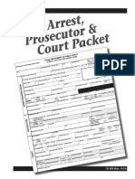Adult Prosecution Package CR-50B