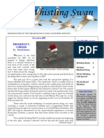 December 2009 Whistling Swan Newsletter ~ Mendocino Coast Audubon Society