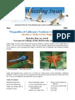 May 2008 Whistling Swan Newsletter ~ Mendocino Coast Audubon Society