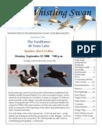 September 2008 Whistling Swan Newsletter ~ Mendocino Coast Audubon Society