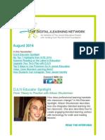 DJLN August 2016 Newsletter