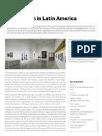 Art Activism in Latin America
