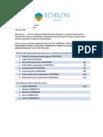 Washington Examiner/Echelon Insights Influential Insights Poll