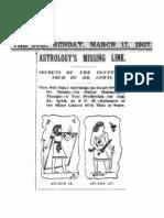 H. Spencer Lewis, Astrology and Tarot (1907)