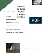 Contaminacion Por Refinerias