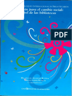 XV cib 2008 Información para el cambio social