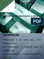Segurança Digital - Aula 1