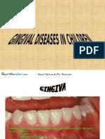 Gingival Diseases in Children