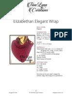 TLC - Elizabethan Elegant Wrap Crochet Pattern