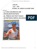 Revistas De Artes Marciales_ Dojo_- Jean Claude Van Damme - $ 350,00 en Mercado Libre
