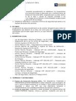 Proc.de Equipos de Proteccion Personal.