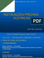 Instalacoes Prediais - Eletricas - Prof.joelestacio