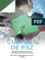 Cultura de Paz Nov 2012 Libro
