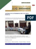 E-book - 100 Perguntas Poderosas de Coaching Pessoal