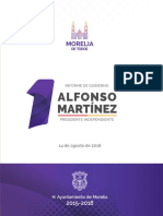 1er Informe de Gobierno Morelia - 2016