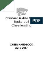 2016-2017 cheerleading handbook