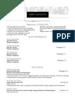 abby jackson resume