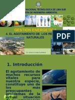 4 . Clase. Agotamiento de Los Recursos Energeticos.