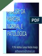 MARCHA NORMAL E PATOLÓGICA