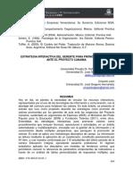 ESTRATEGIA INTERACTIVA DEL GERENTE PARA PROMOVER VALORES ANTE EL PROYECTO CANAIMA