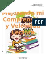 Cuadernillo Comprencion Lectora Quinto