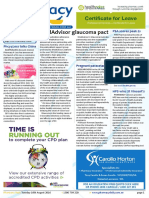 Pharmacy Daily for Tue 16 Aug 2016 - MedAdvisor glaucoma pact, Pregnancy and paracetamol, PSA scores peak $s, Guild Update and much more