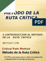 Metodo de la Ruta Critica