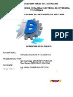 Informe Final - Organizaciones Inteligentes