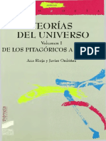 Rioja Ana Y Ordoñez Javier - Teorias Del Universo - Vol I - De Los Pitagoricos a Galileo
