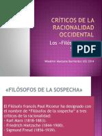 2.- Maestros de La Sospecha