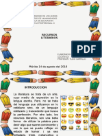 RECURSOS DE LA LENGUA ESCRITA ( RECURSOS LITERARIOS)