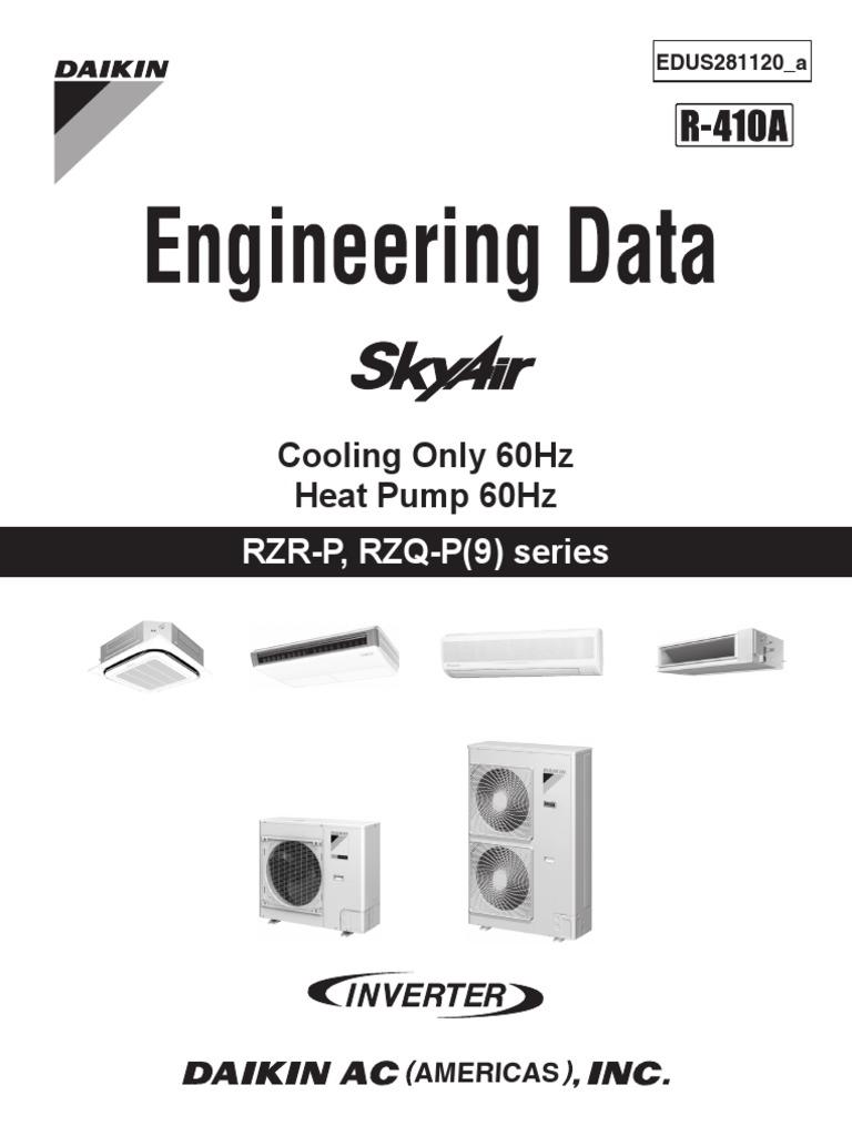 EDUS281120_a RZR-P,RZQ-P(9) SkyAir Engineering Data | Air ... on