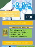 Cobertura Universal de Saúde