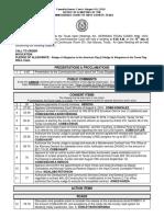 8-16-16 Agenda