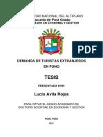 Tesis Plagiada de Lucio Ávila Del 2010 de La Universidad Nacional Del Altiplano