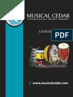 Catalogo Musical Cedar